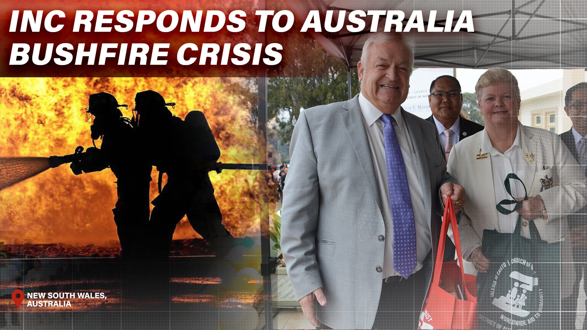INC Responds to Australia Bushfire Crisis