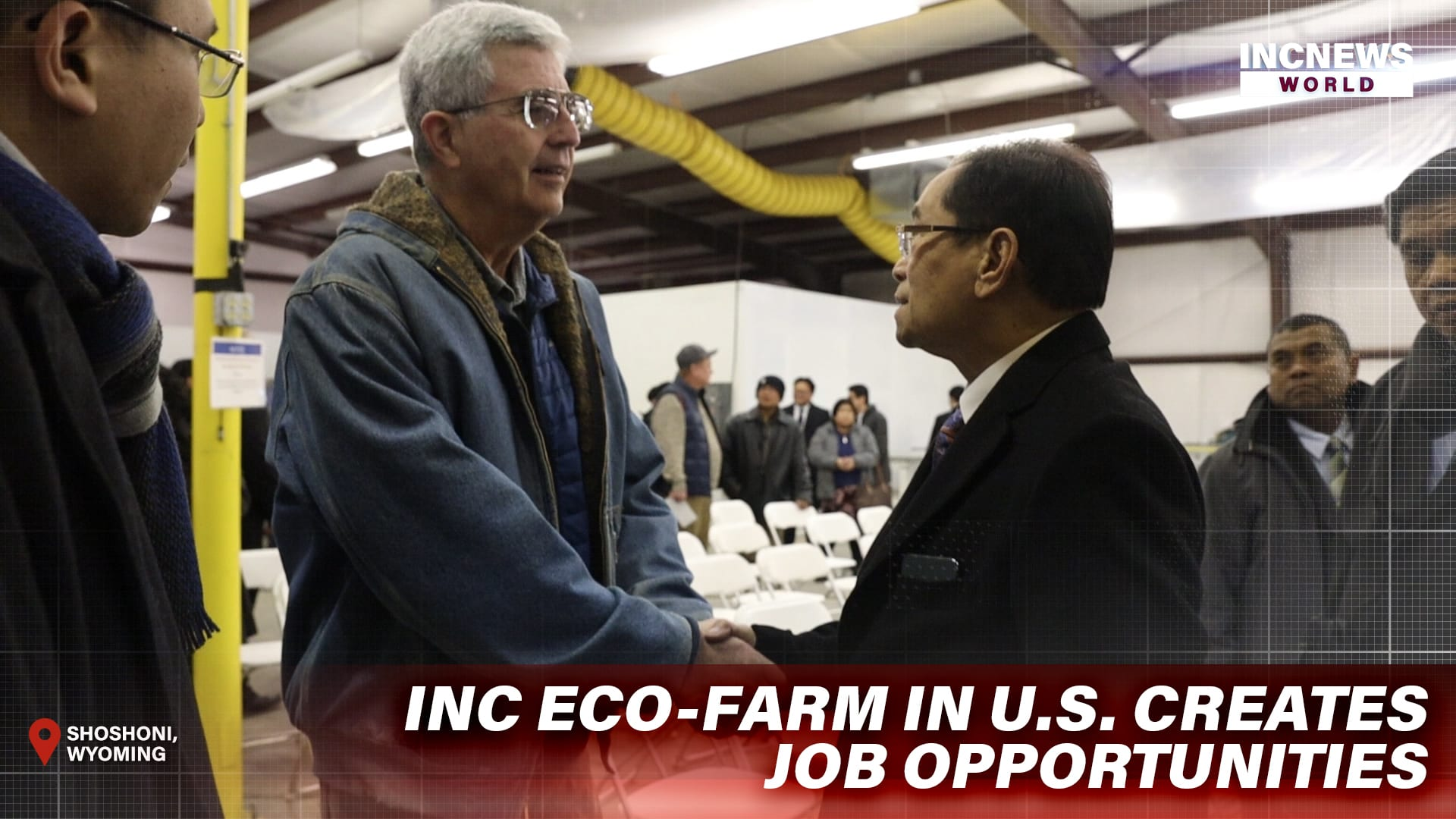 INC Eco-farm in US Creates Job Opportunities