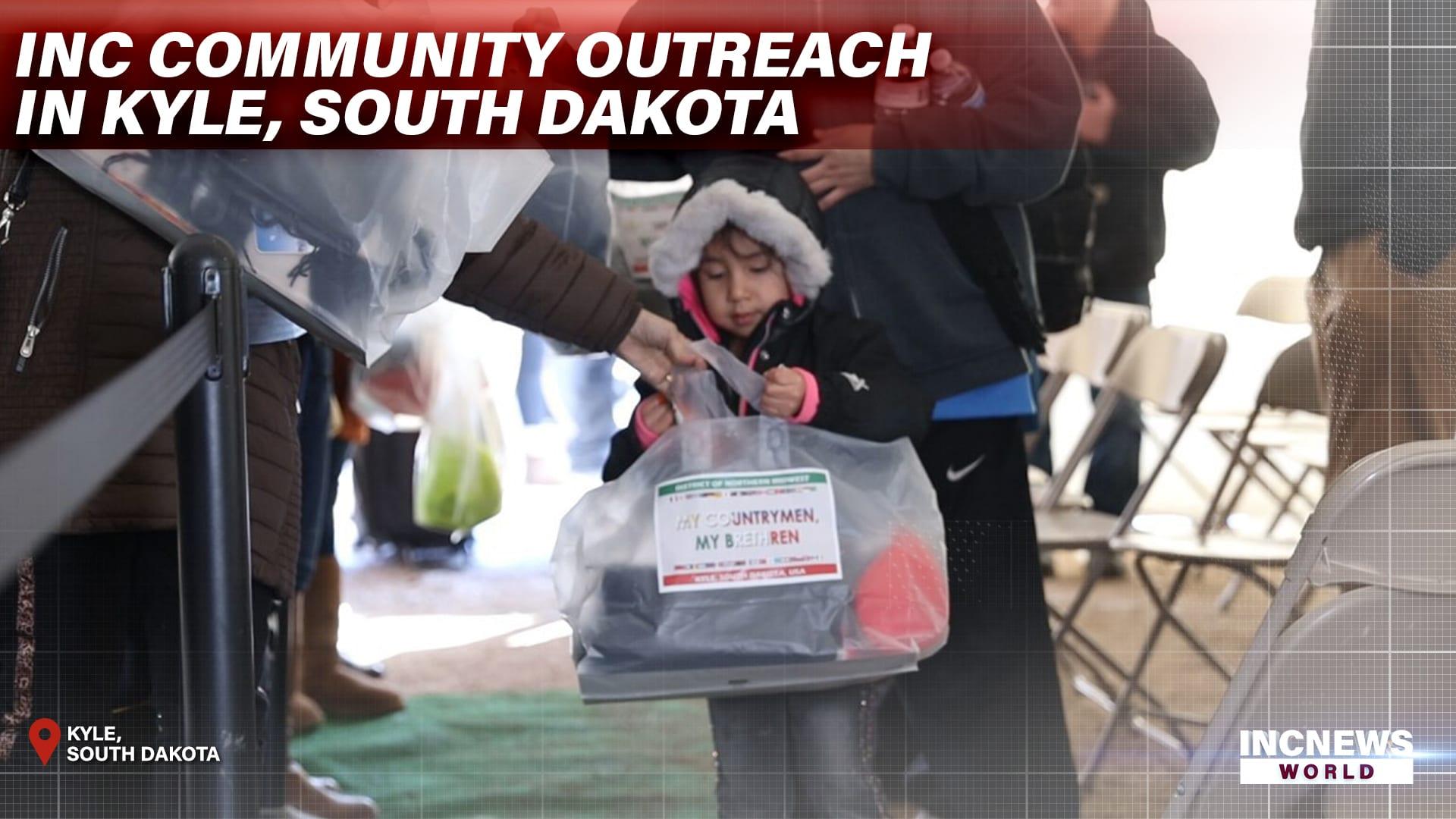 INC Community Outreach in Kyle, South Dakota