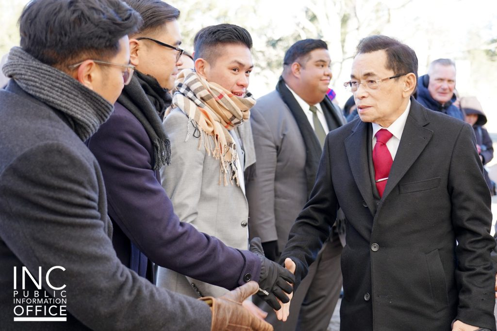 INC General Auditor Brother Glicerio B. Santos Jr. led the inauguration of the new Iglesia Ni Cristo (Church Of Christ) School For Ministers (SFM) in Johnsonville, Connecticut.