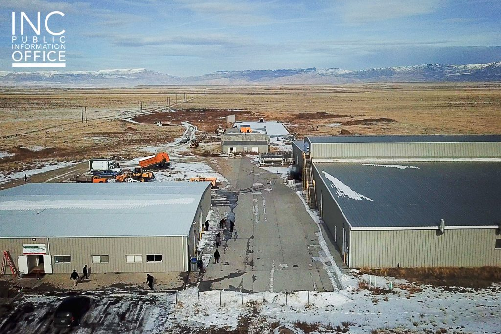 The 163-acre mushroom factory in Shoshoni, Wyoming is now home to the first U.S. eco-farming project of the Iglesia Ni Cristo (INC or Church Of Christ), inaugurated on Jan. 21, 2020. Formerly operated by Rocky Mountain Mushrooms LLC, the factory will be restored and resume operations.