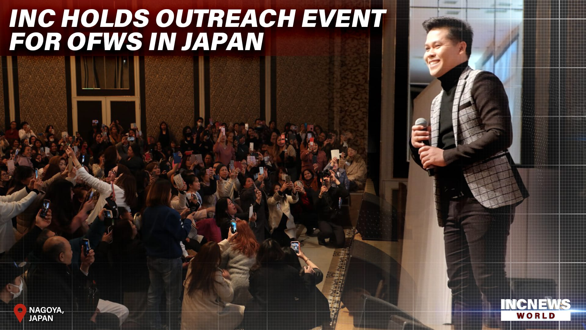 INC Holds Outreach Event for OFWs in Japan