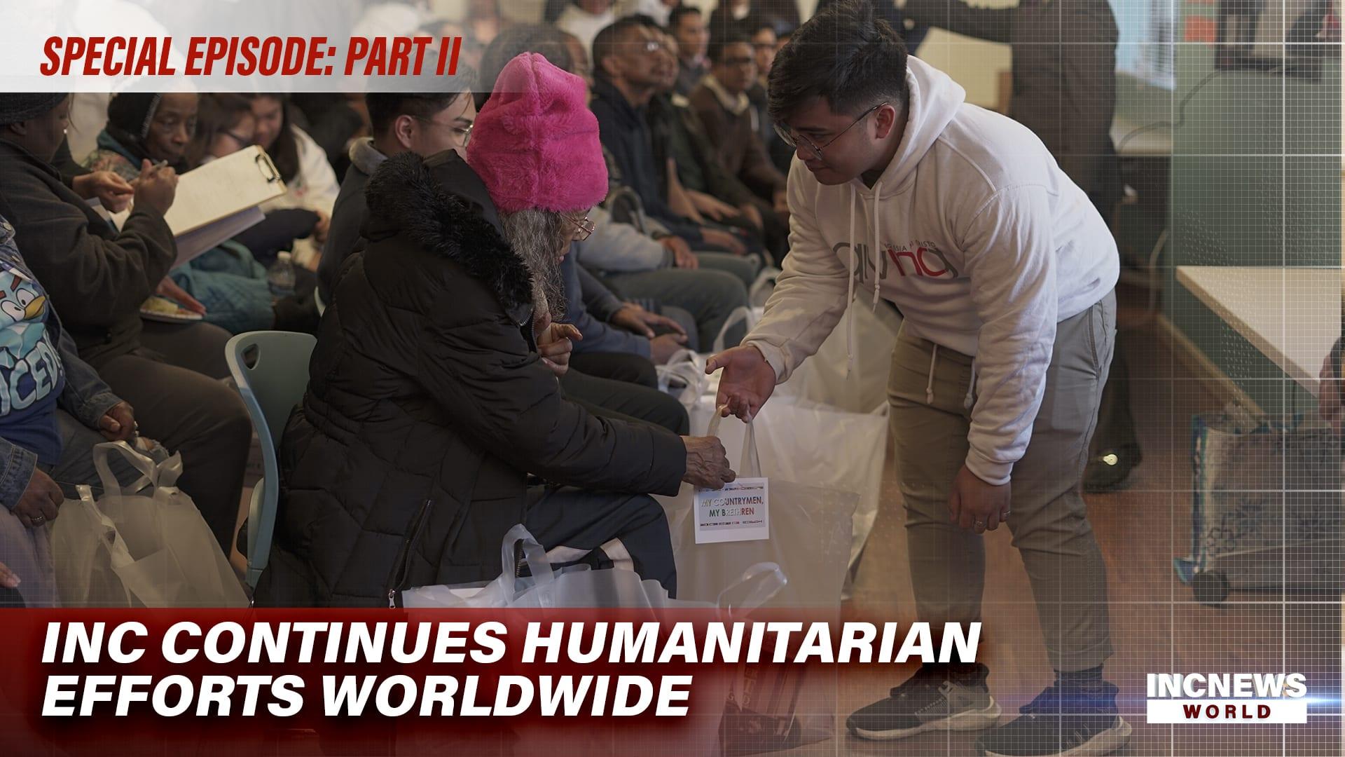 INC Continues Humanitarian Efforts Worldwide