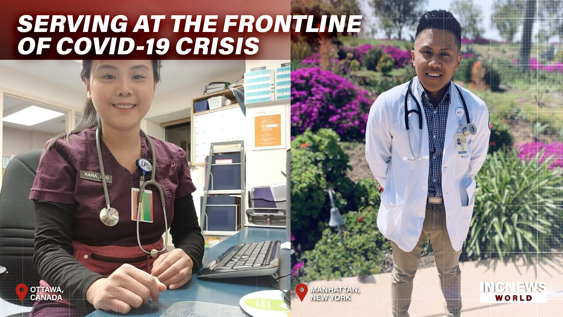 Serving at the Frontline of COVID-19 Crisis