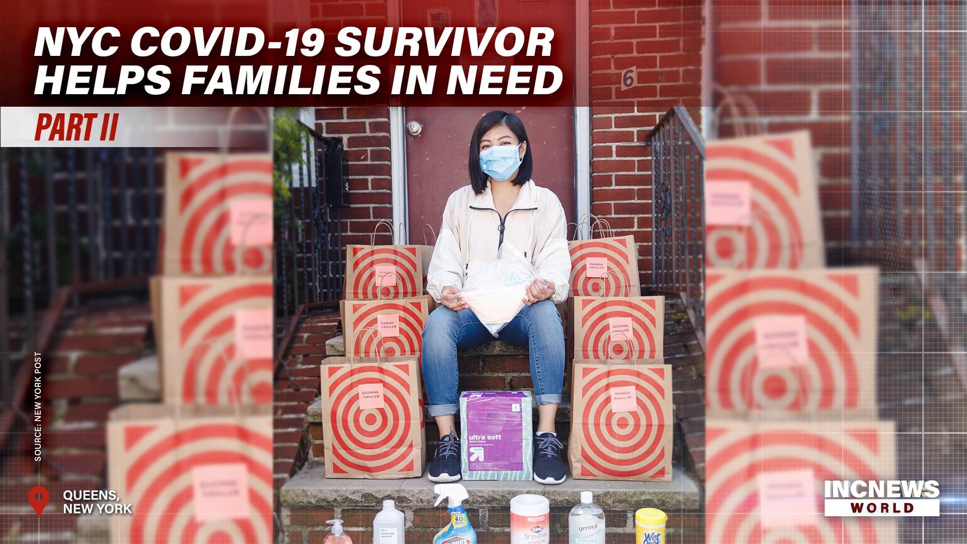 NYC COVID-19 Survivor Helps Families in Need