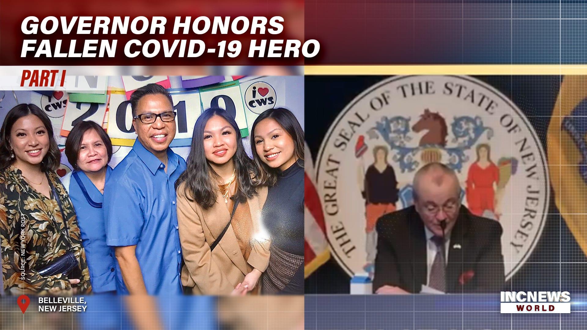 Governor Honors Fallen COVID-19 Hero