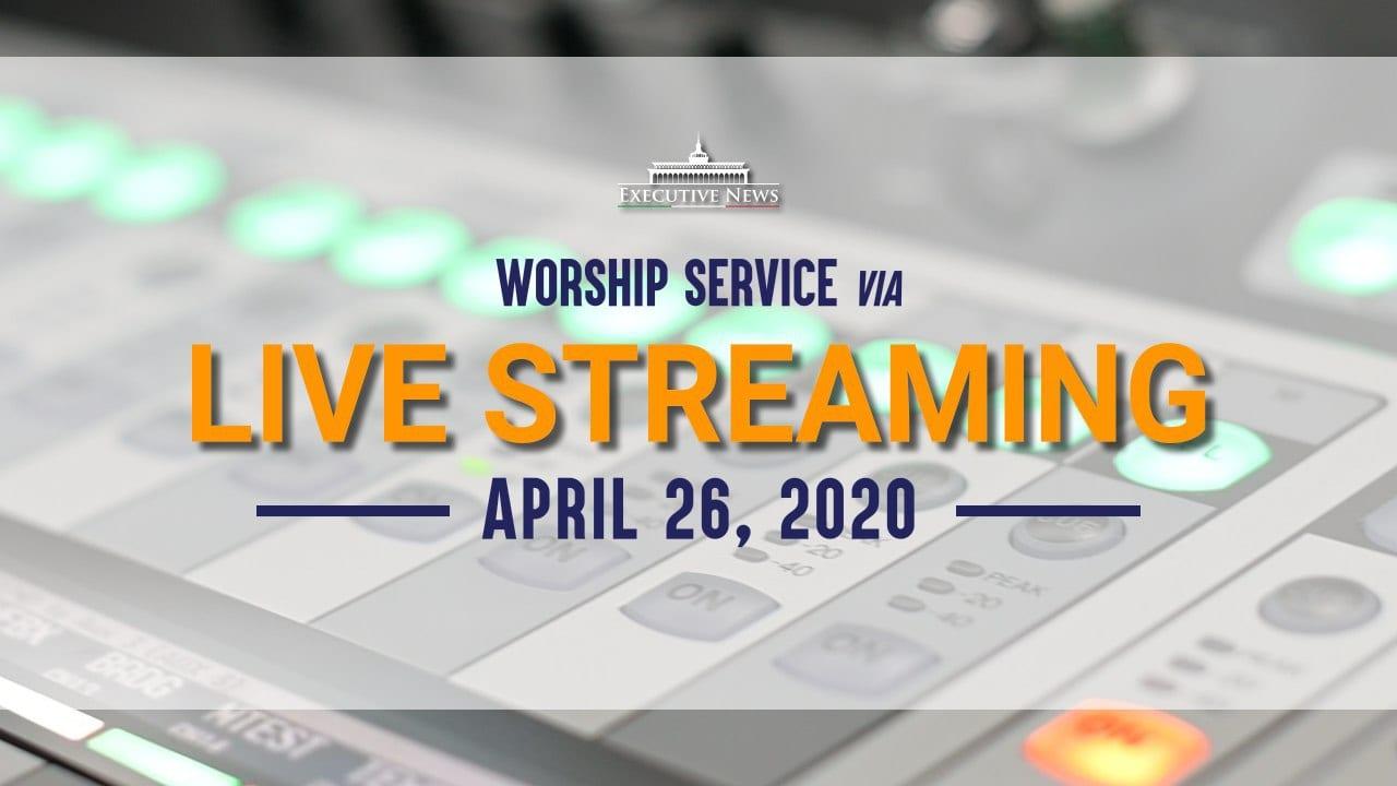 Live Stream Worship Service Brings Hope
