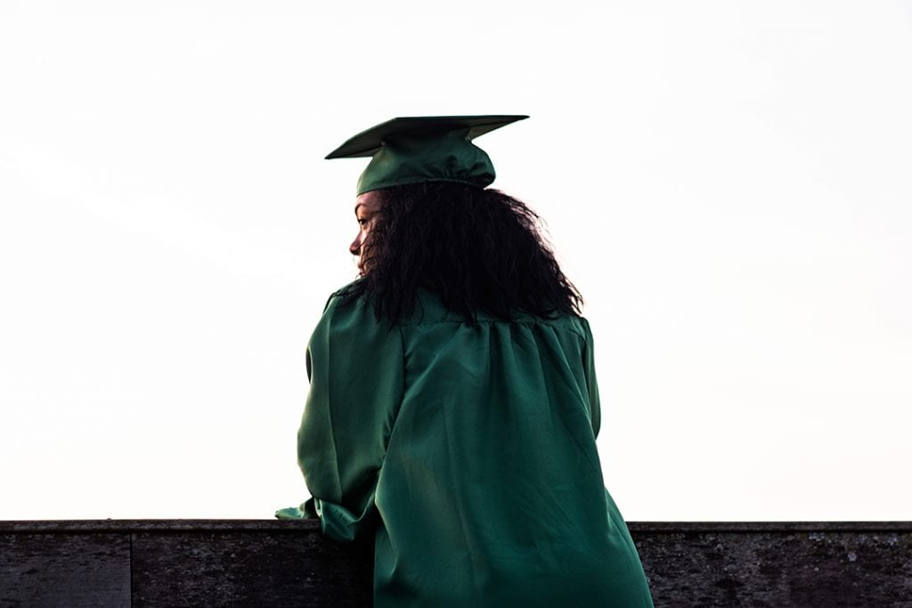 Graduate in green thinking