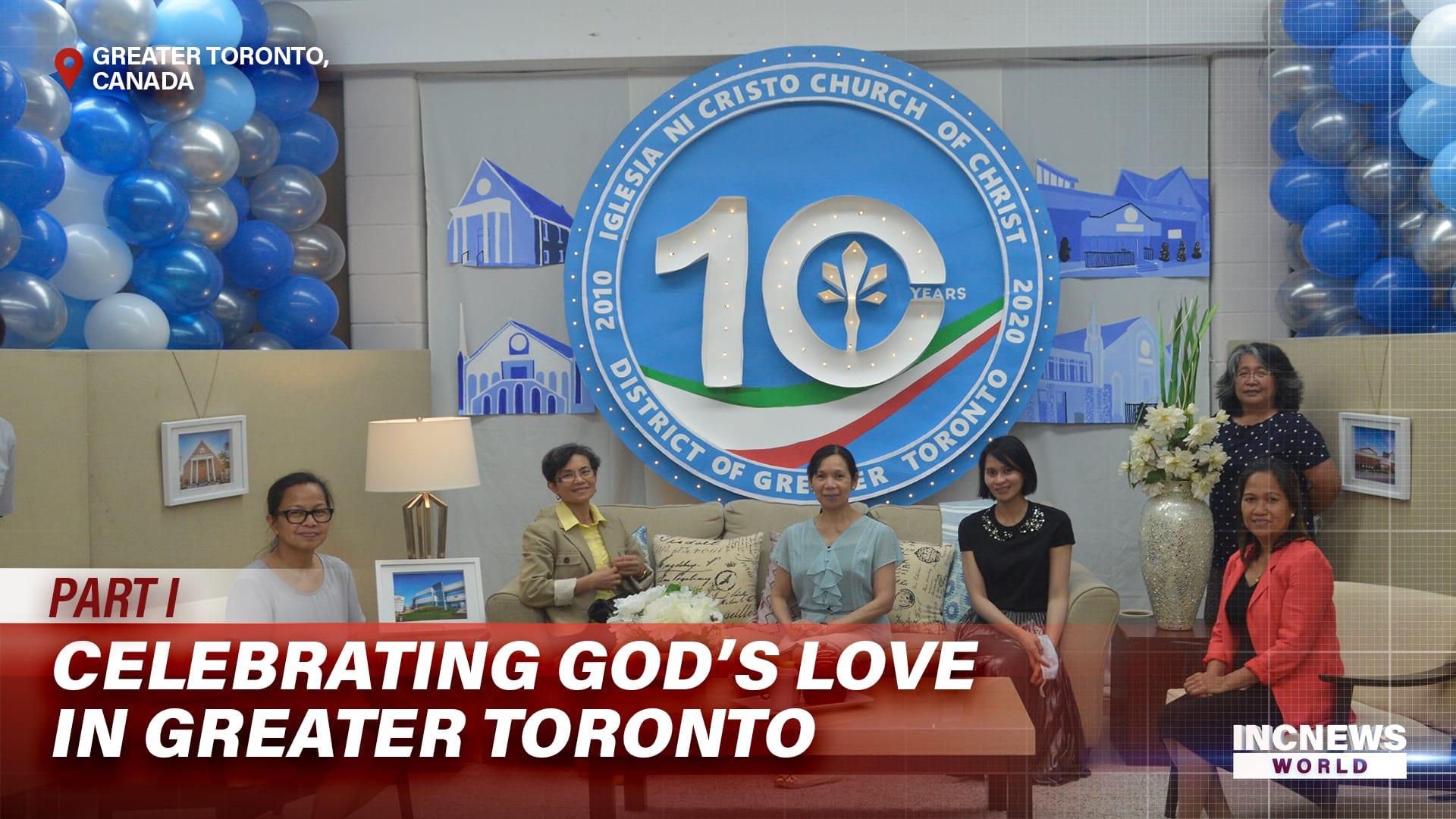 Celebrating God's Love in Greater Toronto