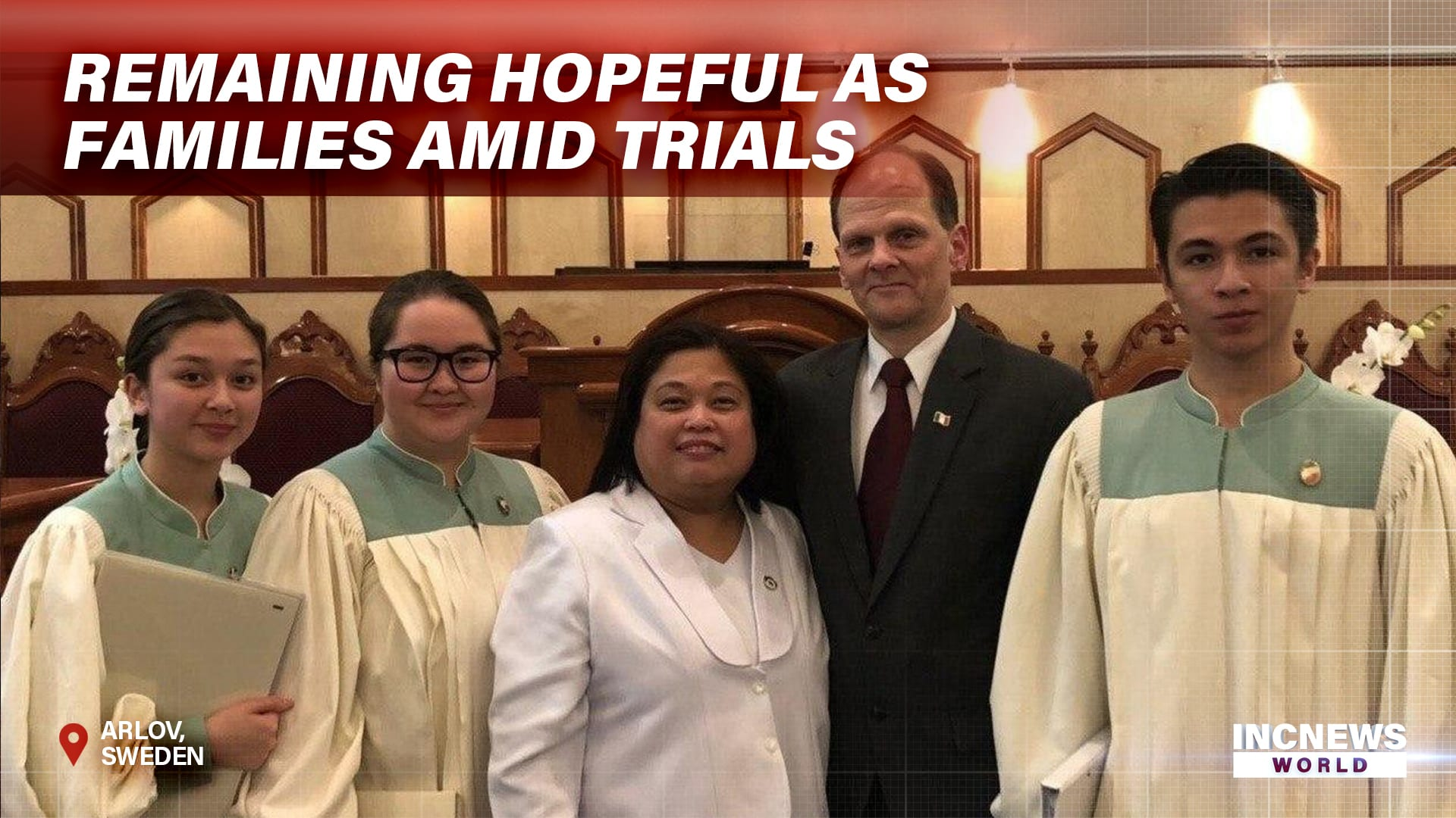 Remaining Hopeful as Families Amid Trials
