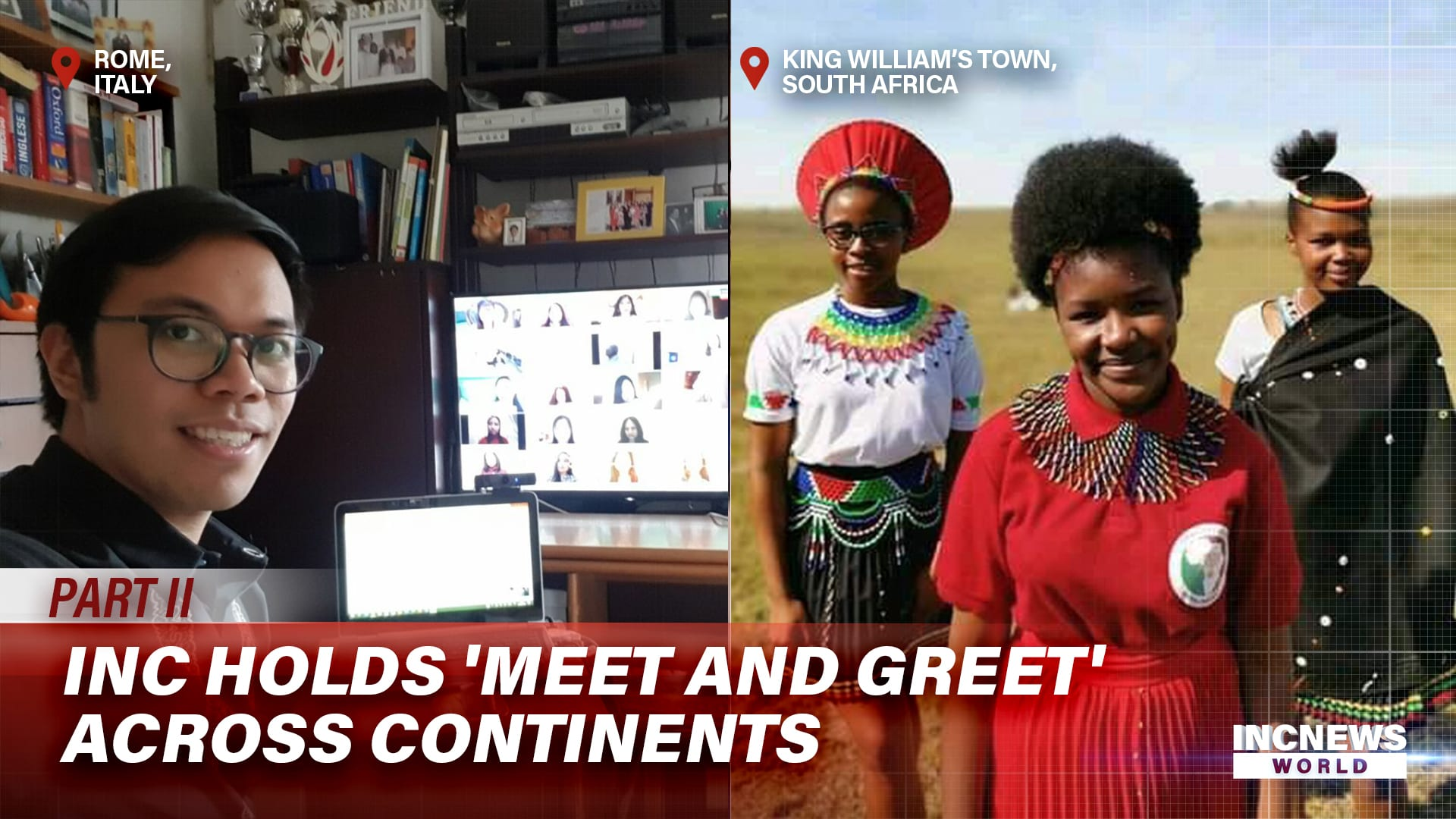 INC Holds 'Meet and Greet' Across Continents
