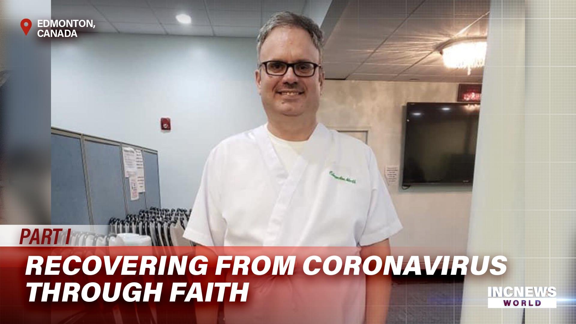 Recovering from Coronavirus through Faith
