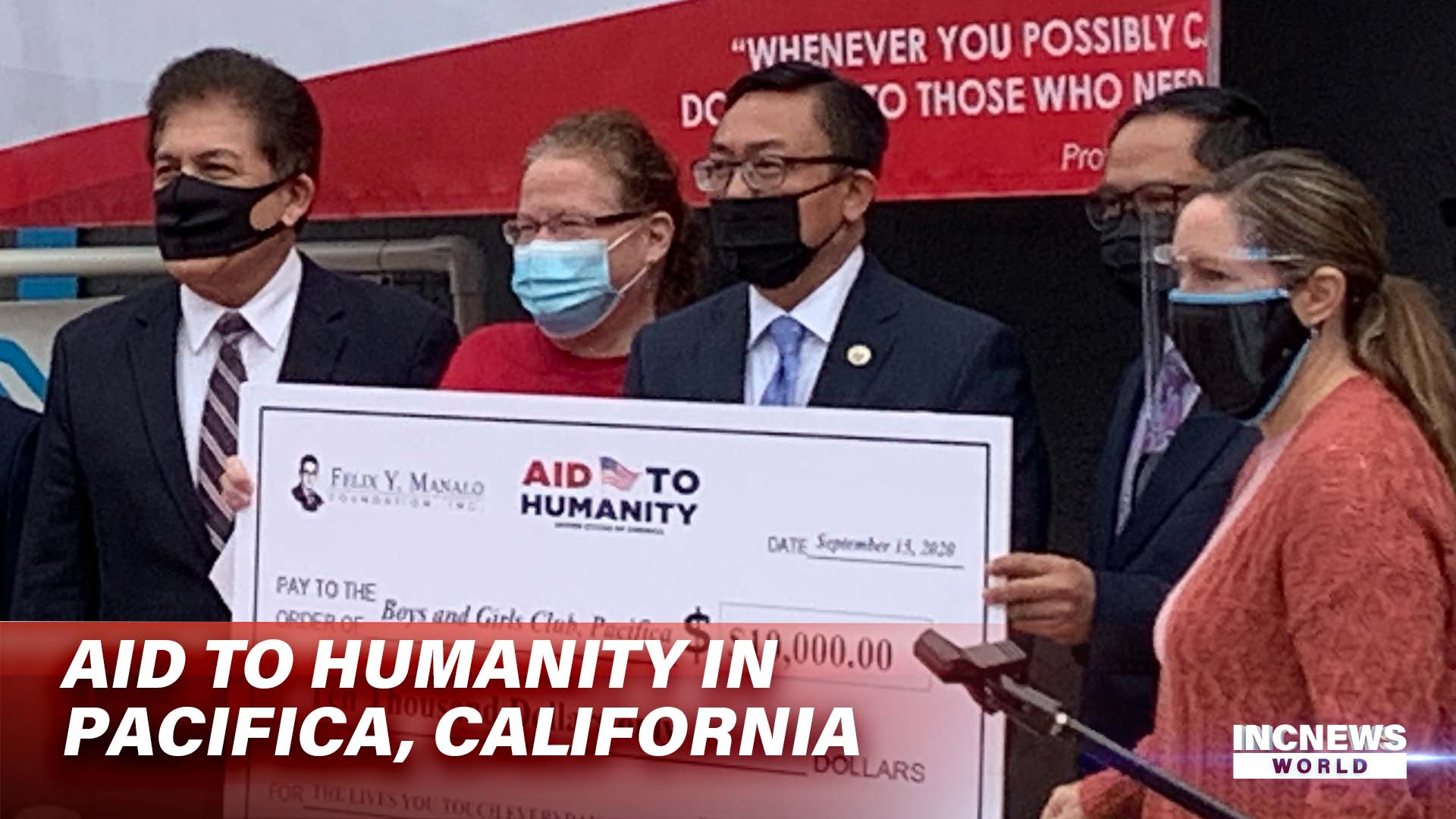 Aid to Humanity in Pacifica, California