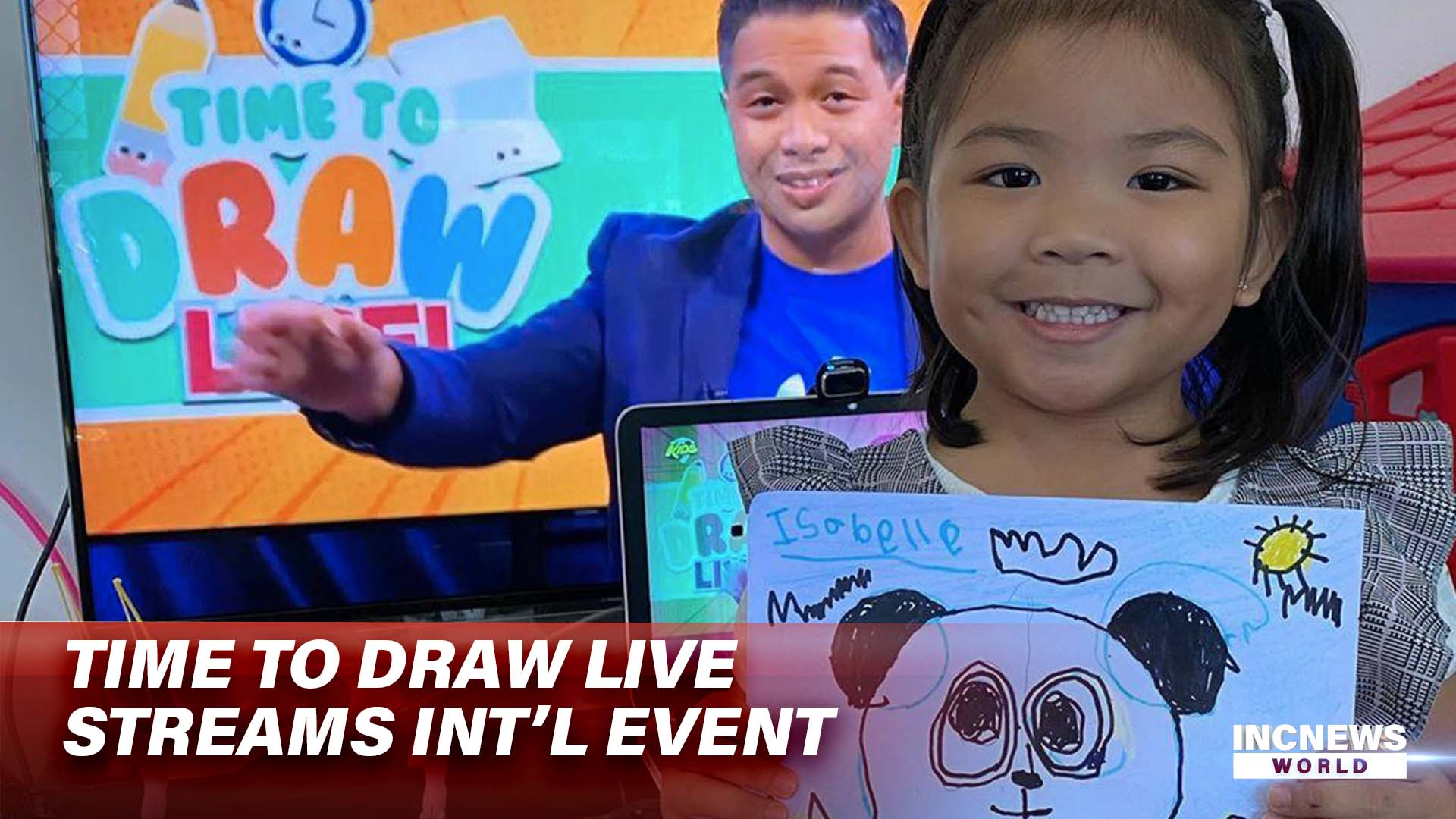 'Time to Draw' LIVE Streams Int'l Event