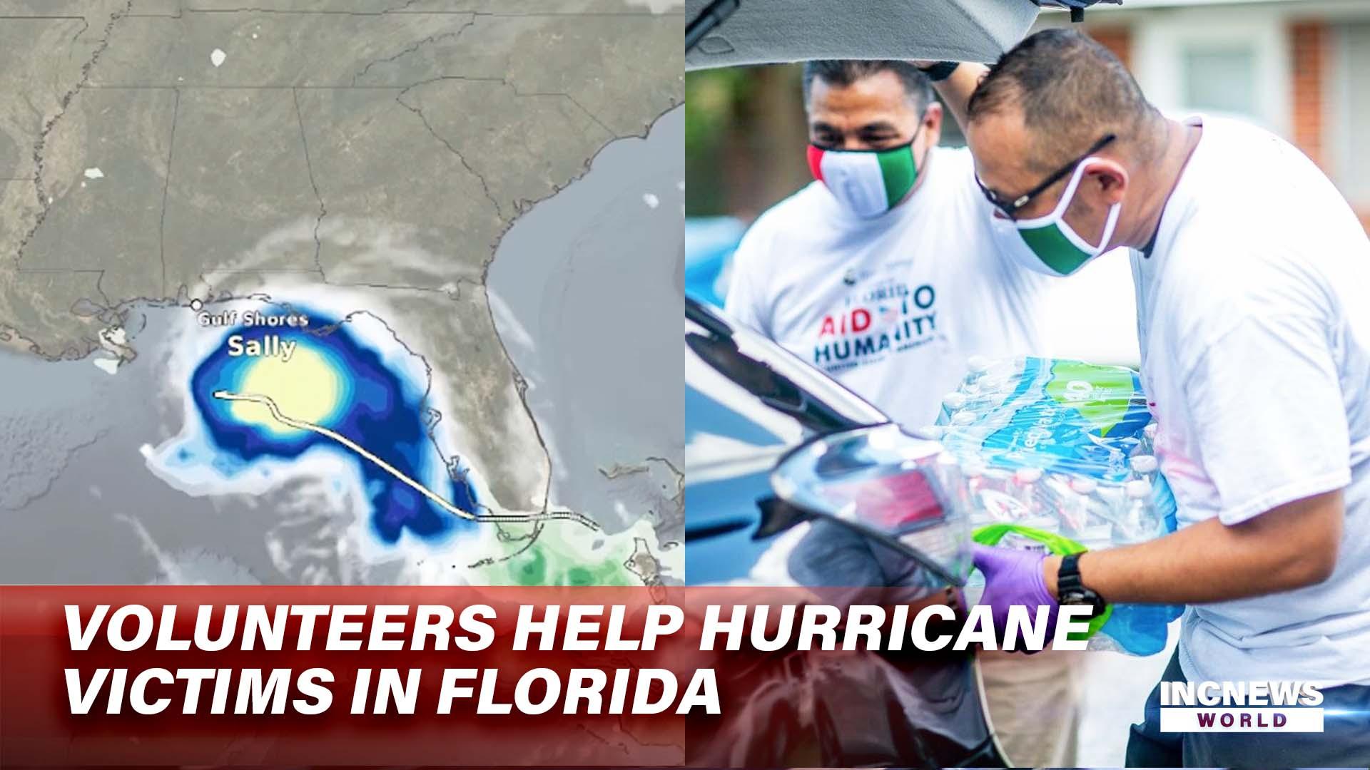 Volunteers Help Hurricane Victims in Florida