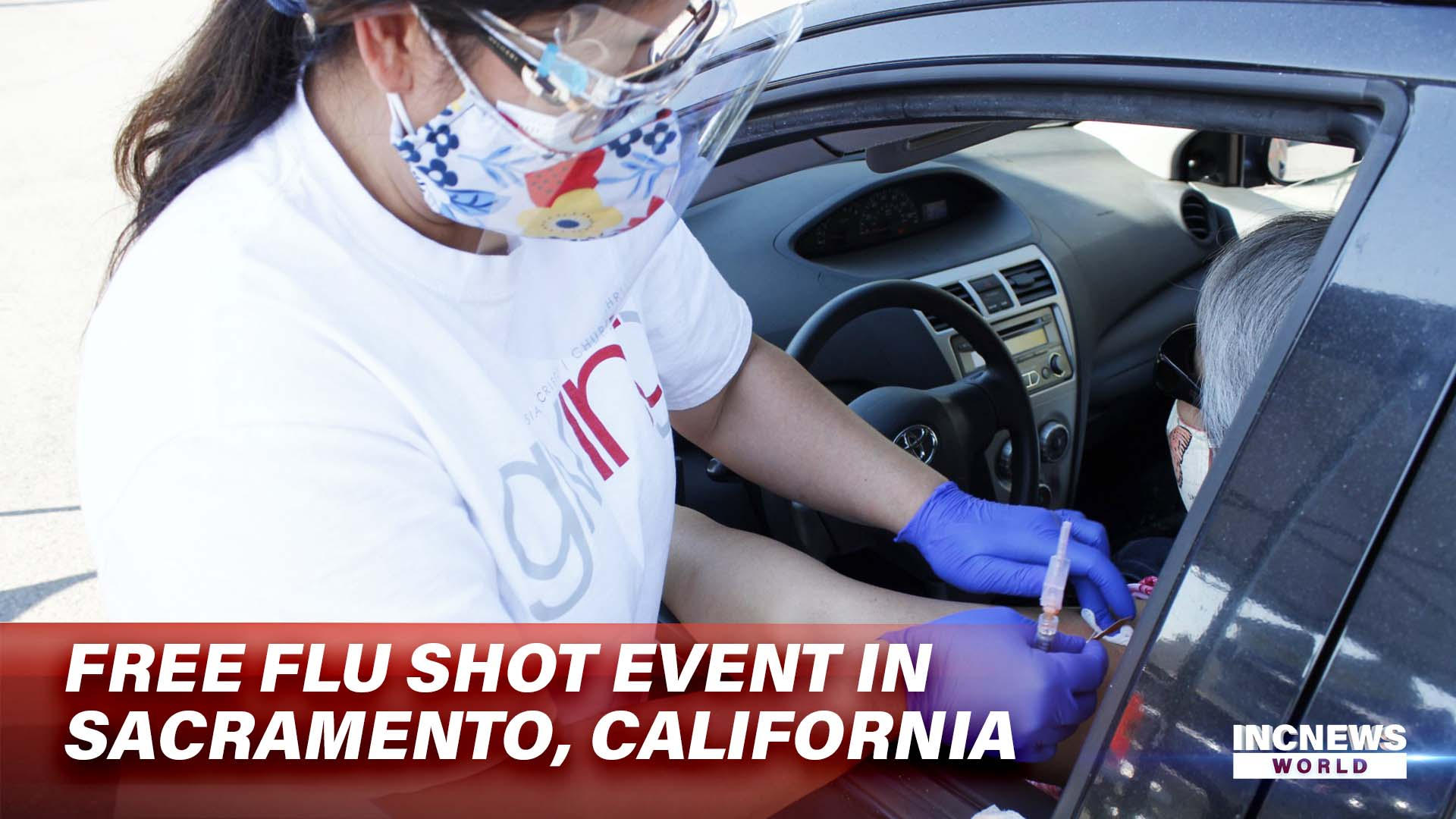 Free Flu Shot Event in Sacramento, California
