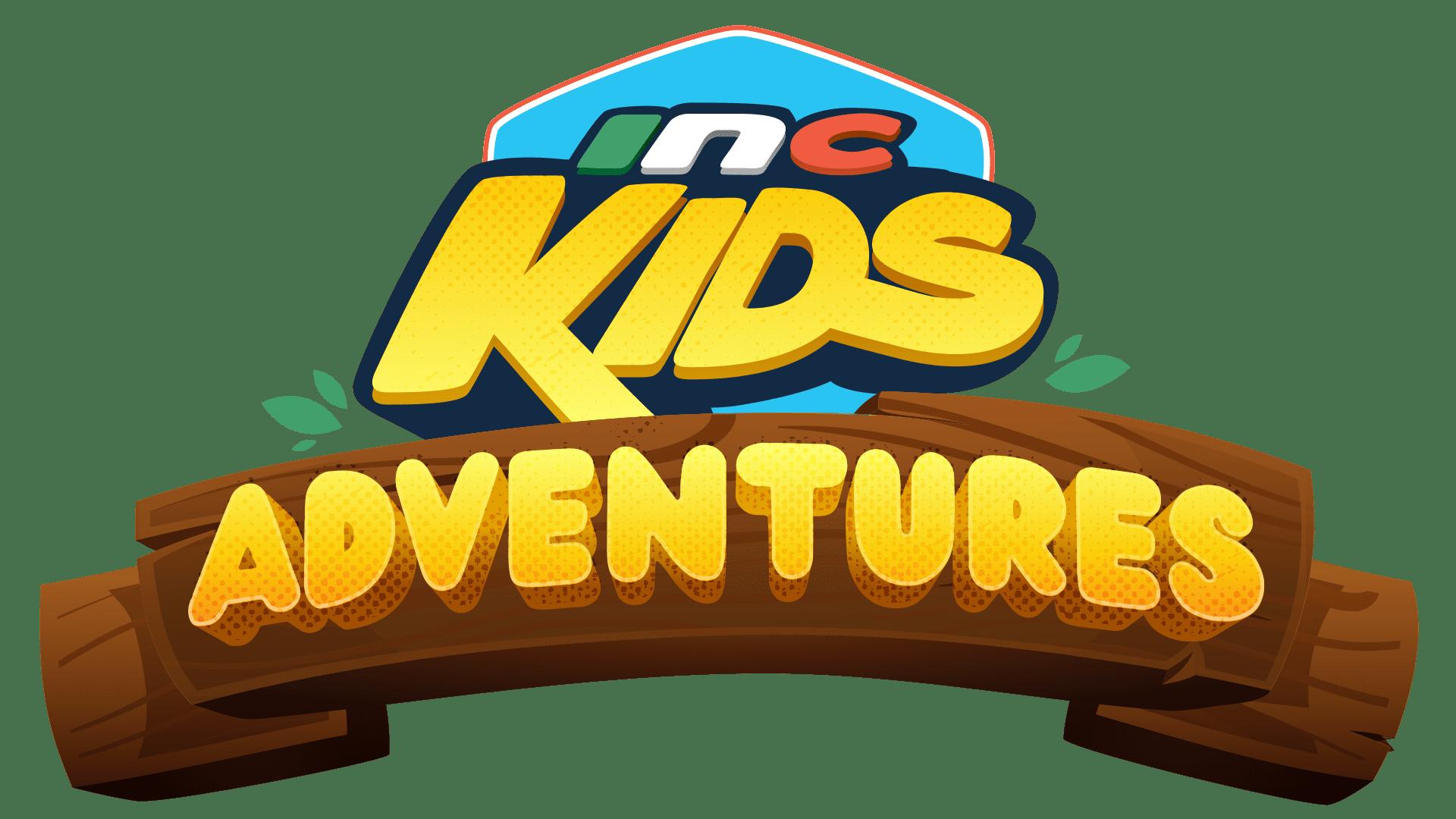"text graphic: ""INC Kids Adventures"""