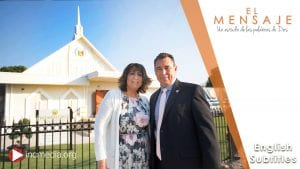 Married couple standing in front of a chapel of the Iglesia Ni Cristo, Church Of Christ during the day time