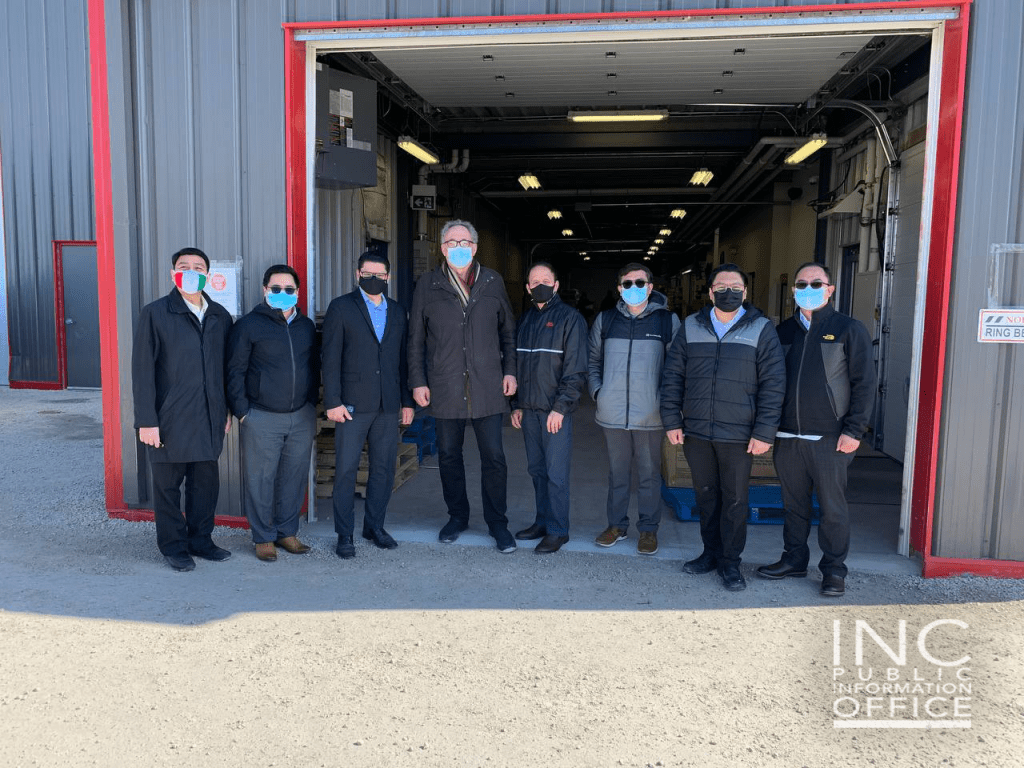7.Gerald Neufeld (fourth from left), a volunteer of Berens River Watershed, coordinated the delivery of the donations from the Iglesia Ni Cristo (Church Of Christ) to the Indigenous communities in Pauingassi and Little Grand Rapids in Manitoba, Canada.