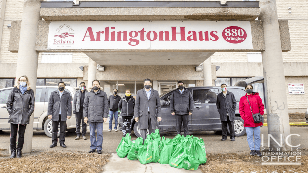 Arlington Haus was one of the housing organizations who received care packages consisting of face masks, masks, hand sanitizers, and Vitamin C supplements from the Iglesia Ni Cristo (Church Of Christ)'s recent Aid To Humanity project.