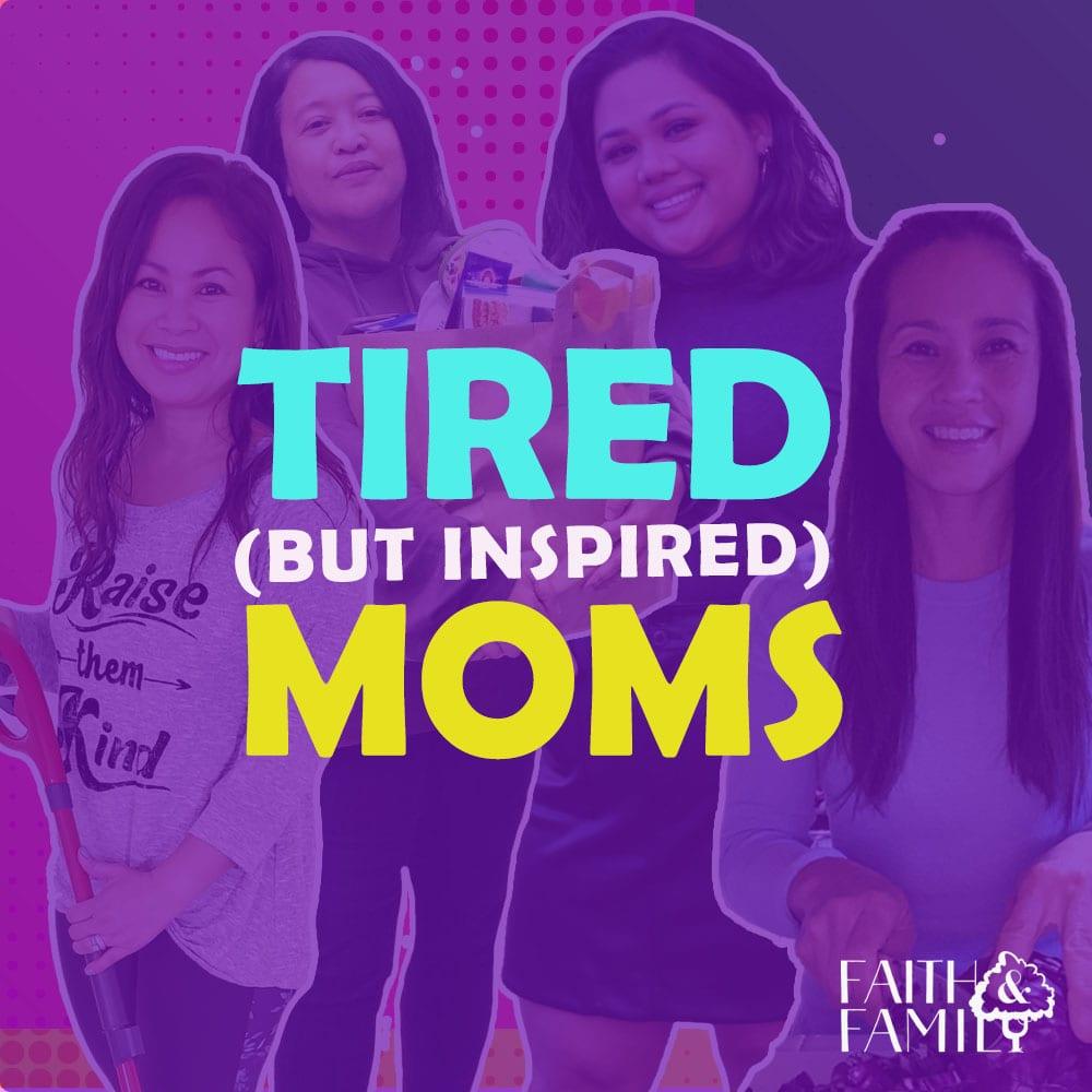 Tired But Inspired Moms logo