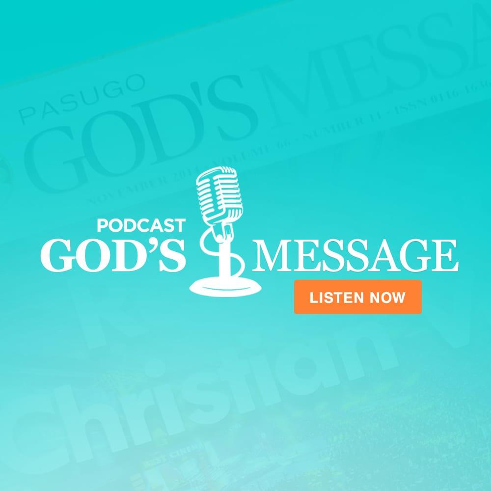 God's Message podcast logo