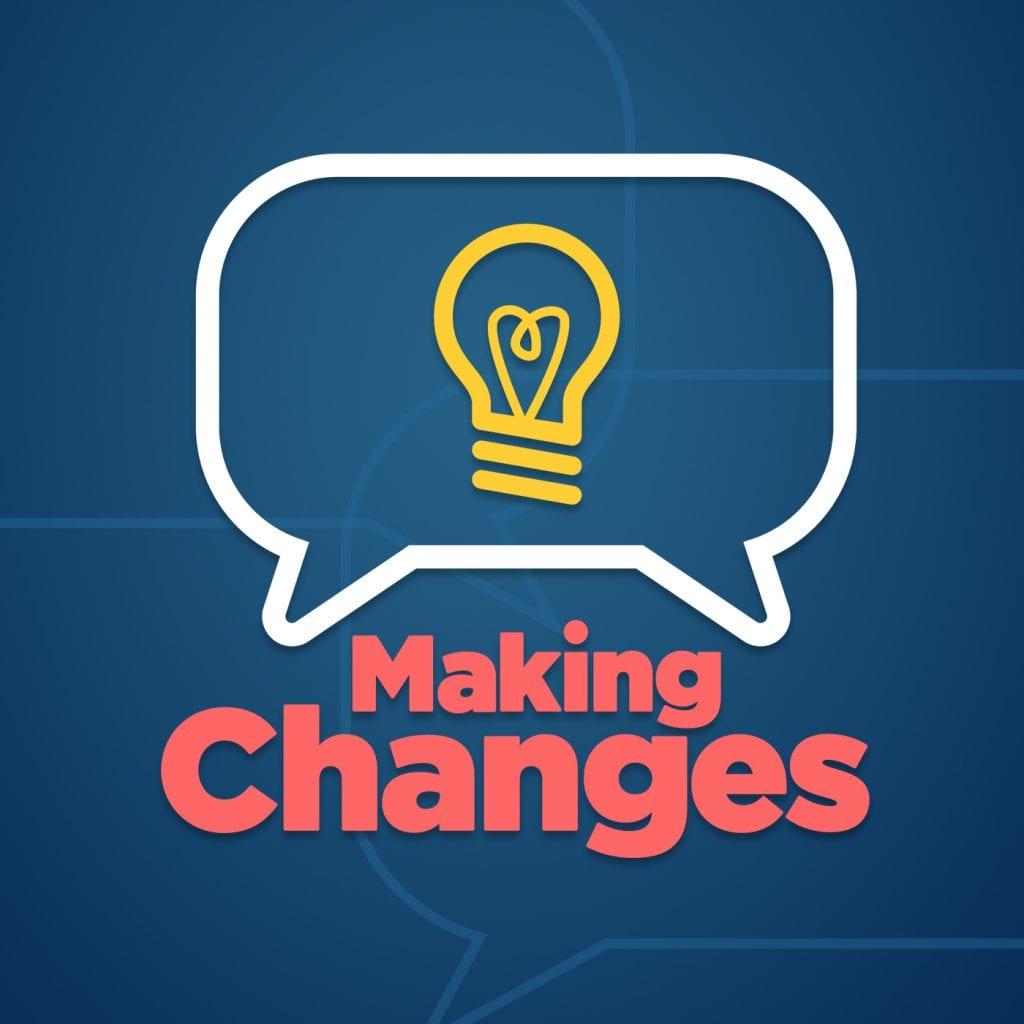 Making changes logo