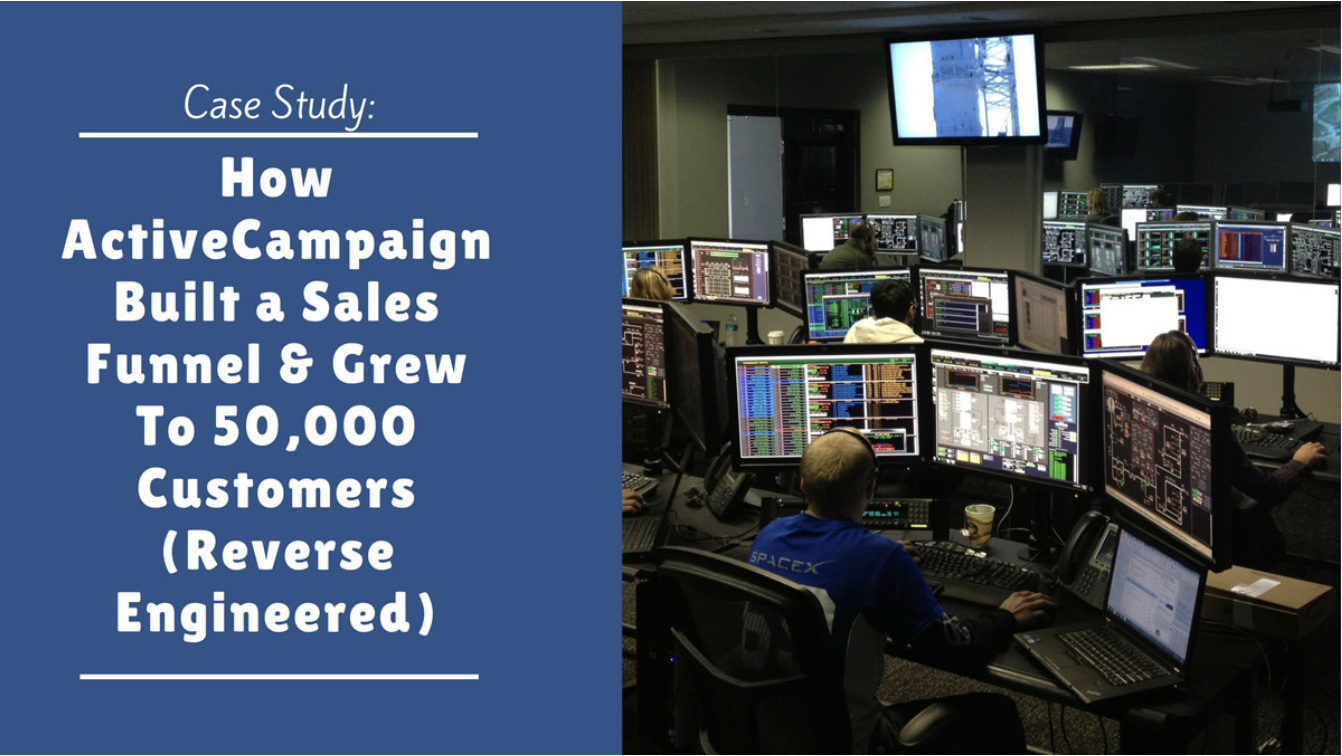 Case Study]: How This SaaS Startup (ActiveCampaign) Built a