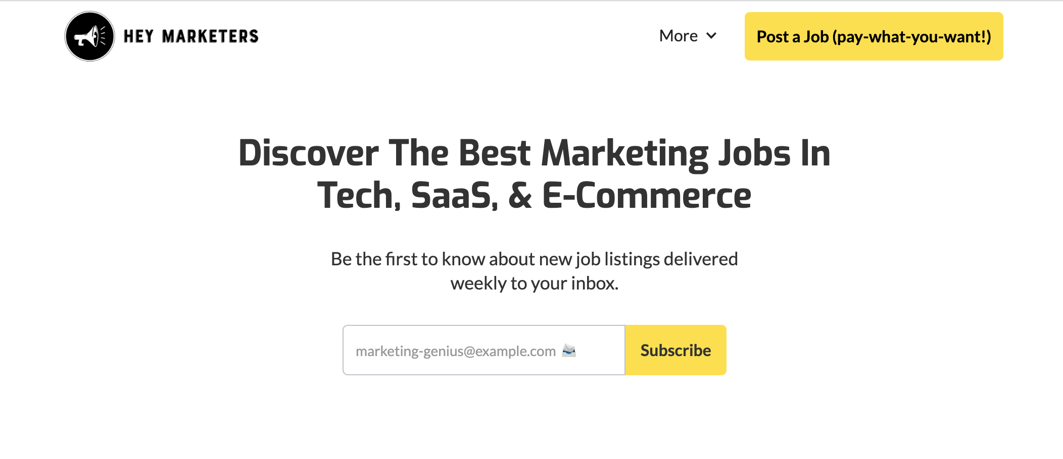 How I Launched a Marketing Job Board in Just Three Weeks