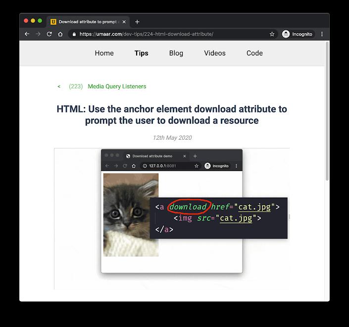 DevTips newsletter
