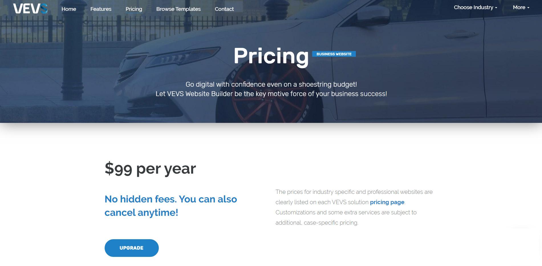 VEVS pricing