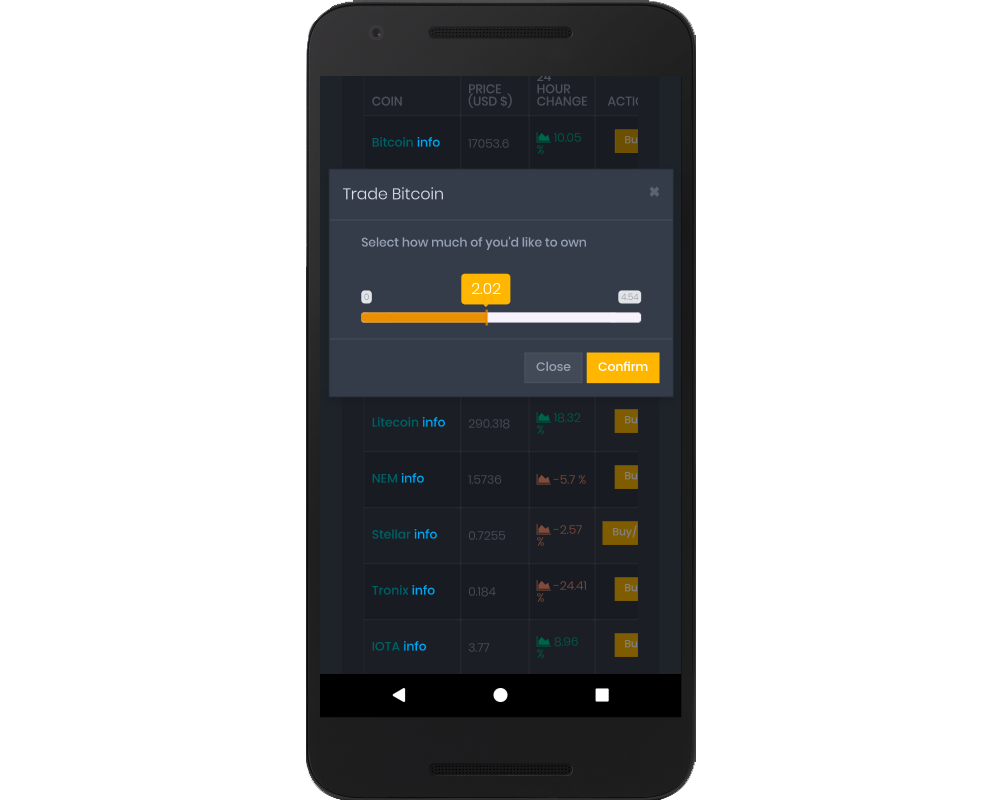 Version 0 of our Android app (just a web browser wrapper)