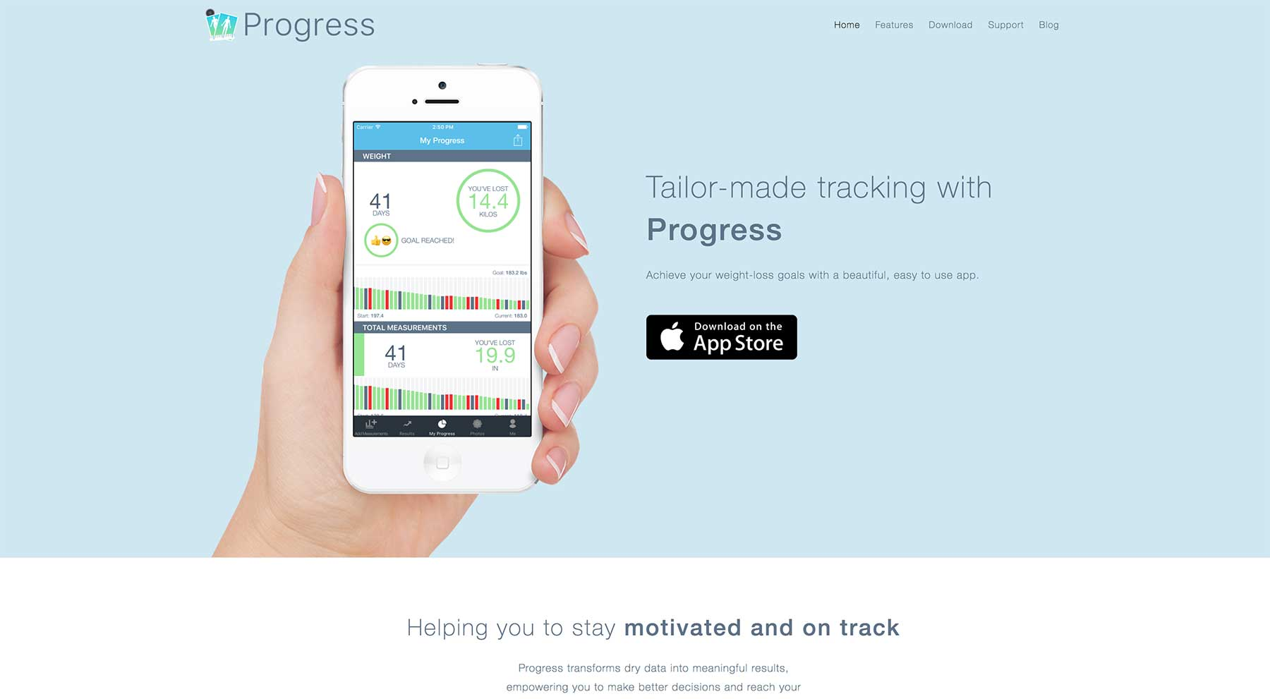 Body Tracker Website