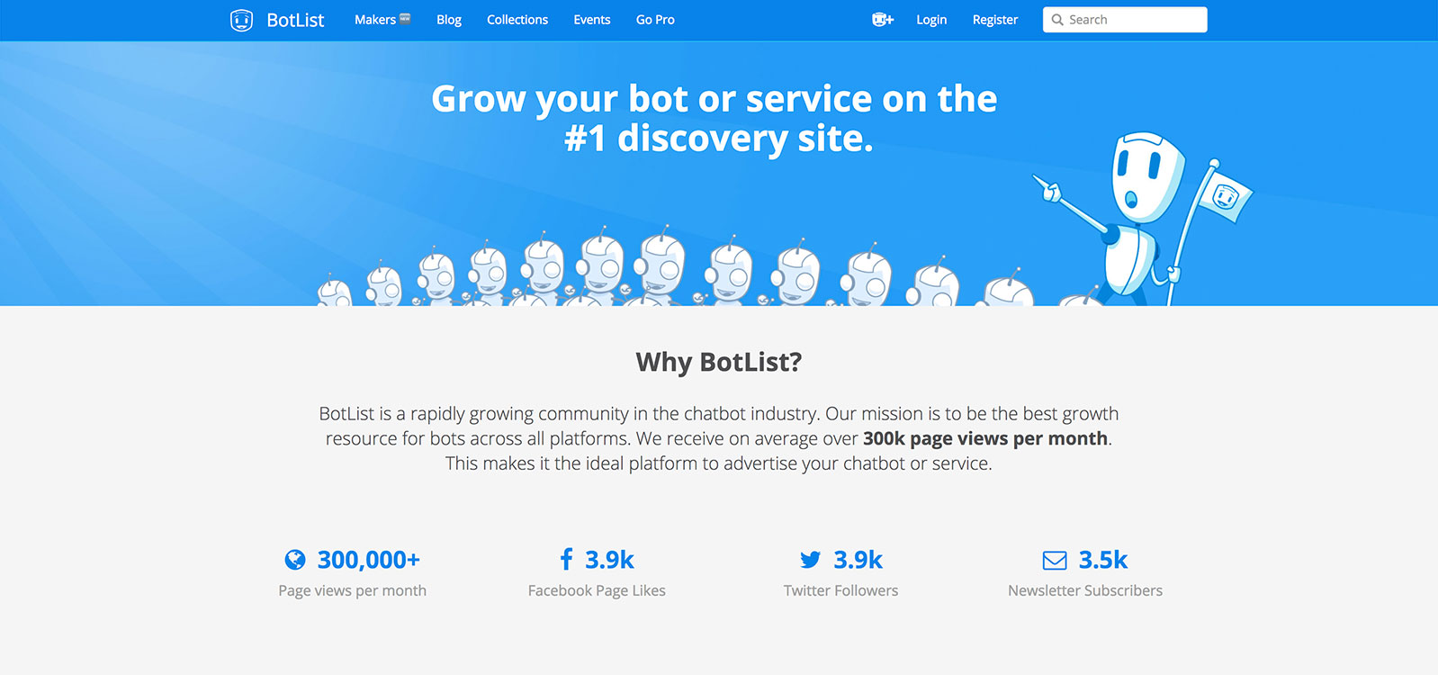 BotList Advertisers Page
