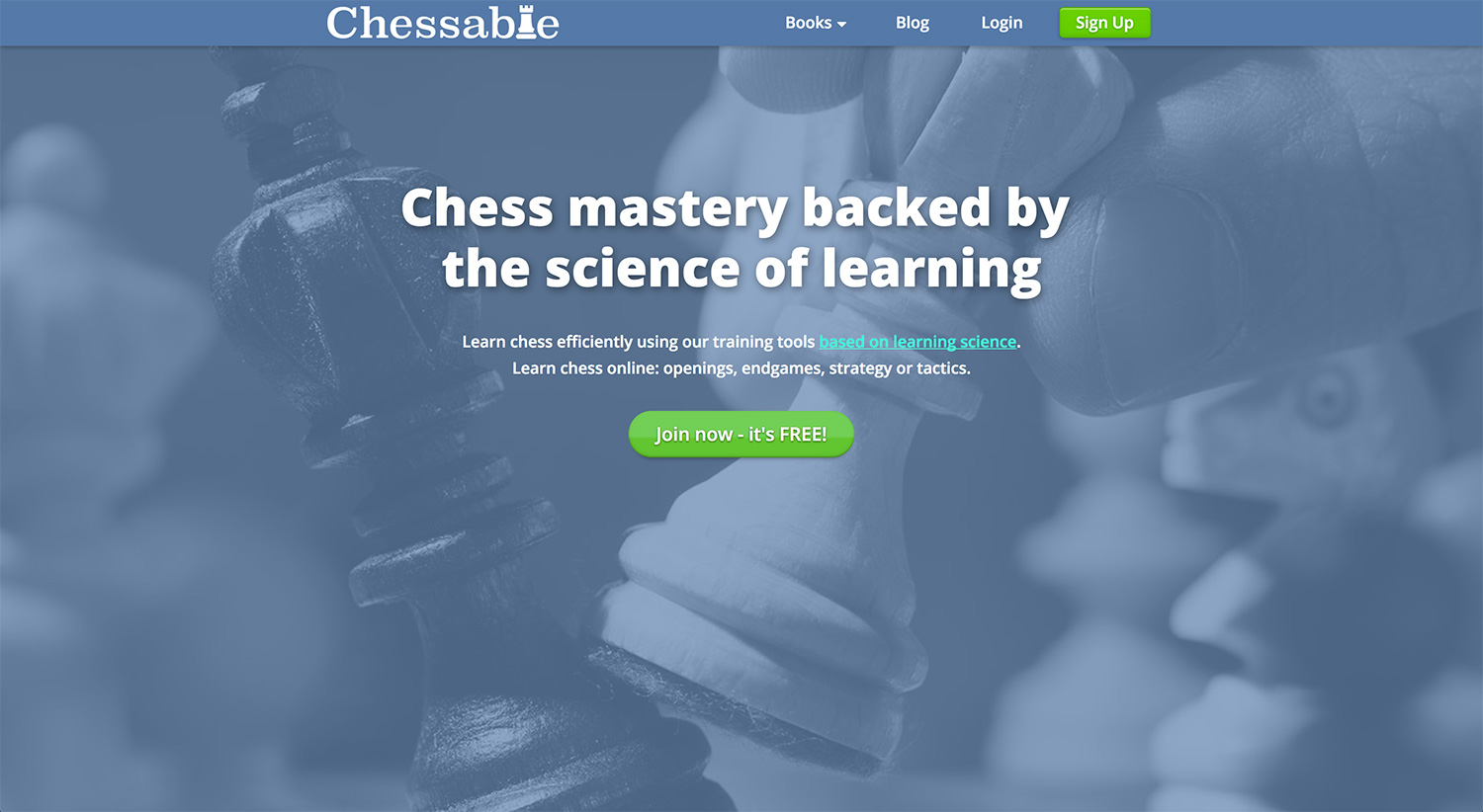 Chessable site