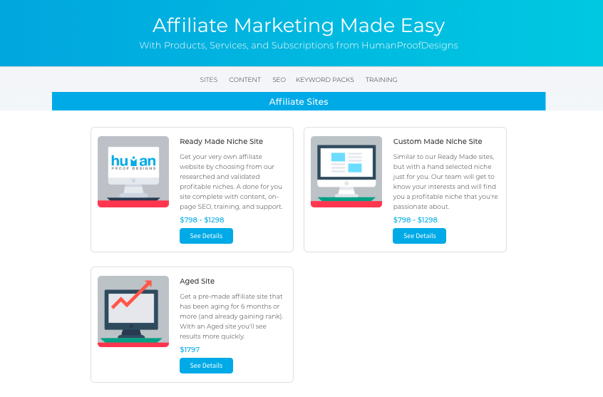 Seo Affiliate Sites