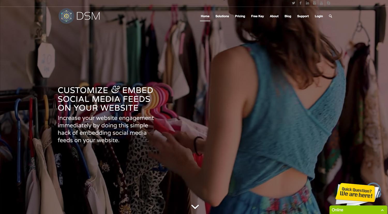 DSM Website