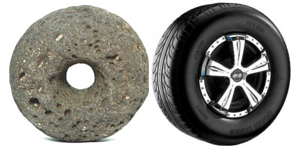 Each time I hear, 'Don't reinvent the wheel.'
