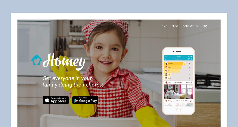 Homey Website