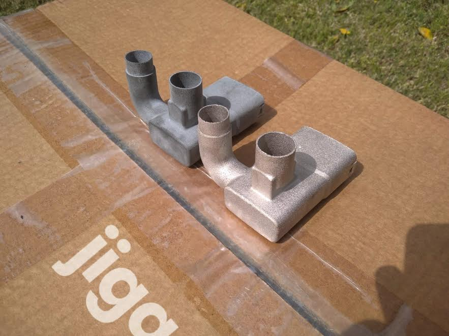 parts printed by Jiga for hospitals during Covid19