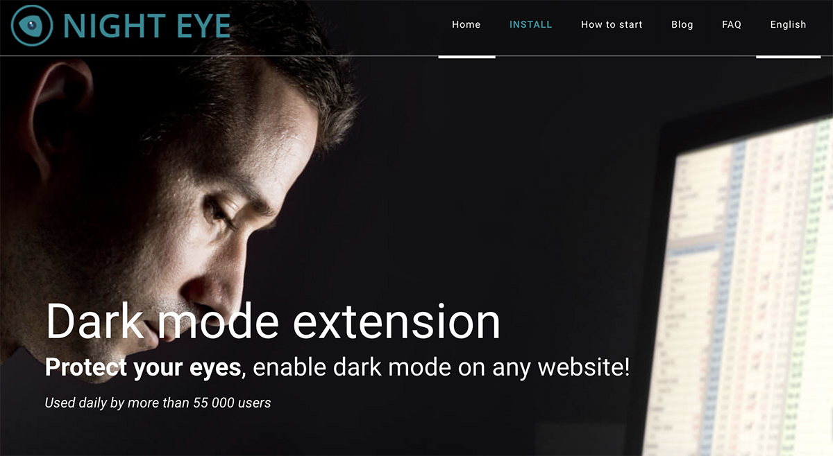 Night Eye homepage
