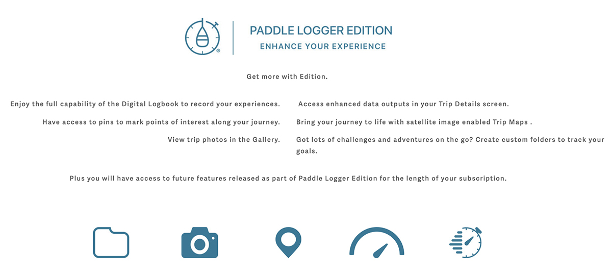 Paddle Logger edition subscription