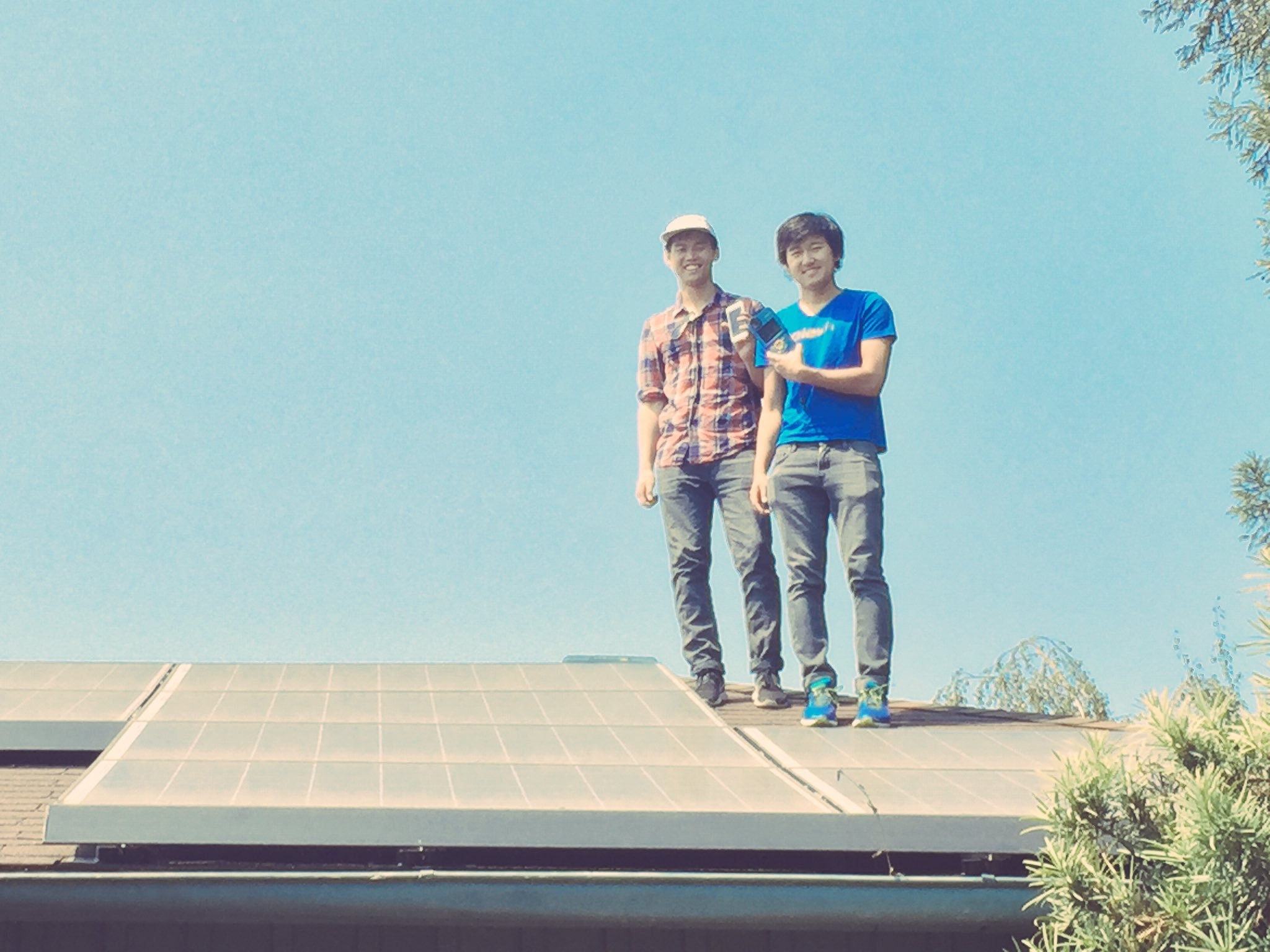 Photon Founders on a Roof