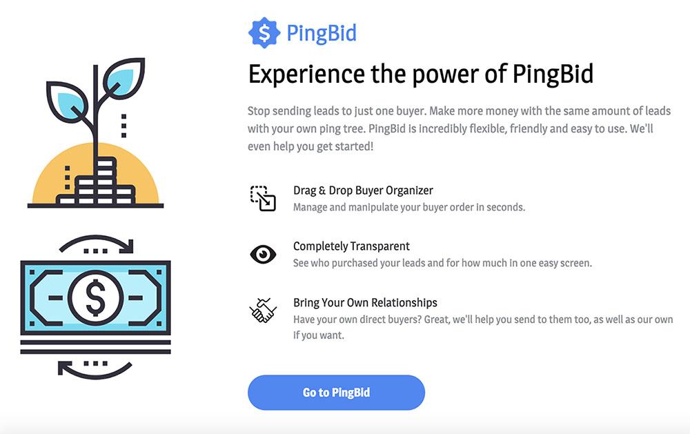 pingbid features