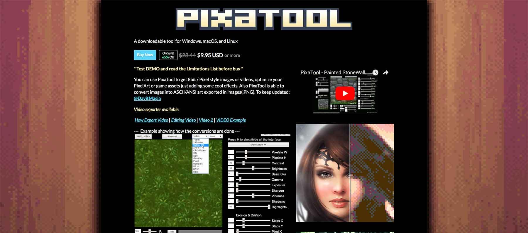 PixaTool Website