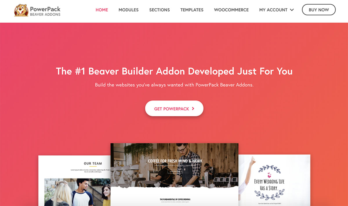 powerpack-for-beaver-builder homepage