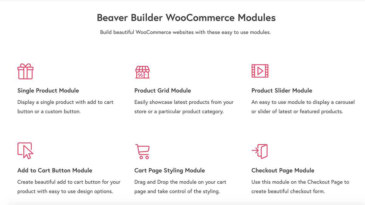 powerpack-for-beaver-builder WooCommerce modules
