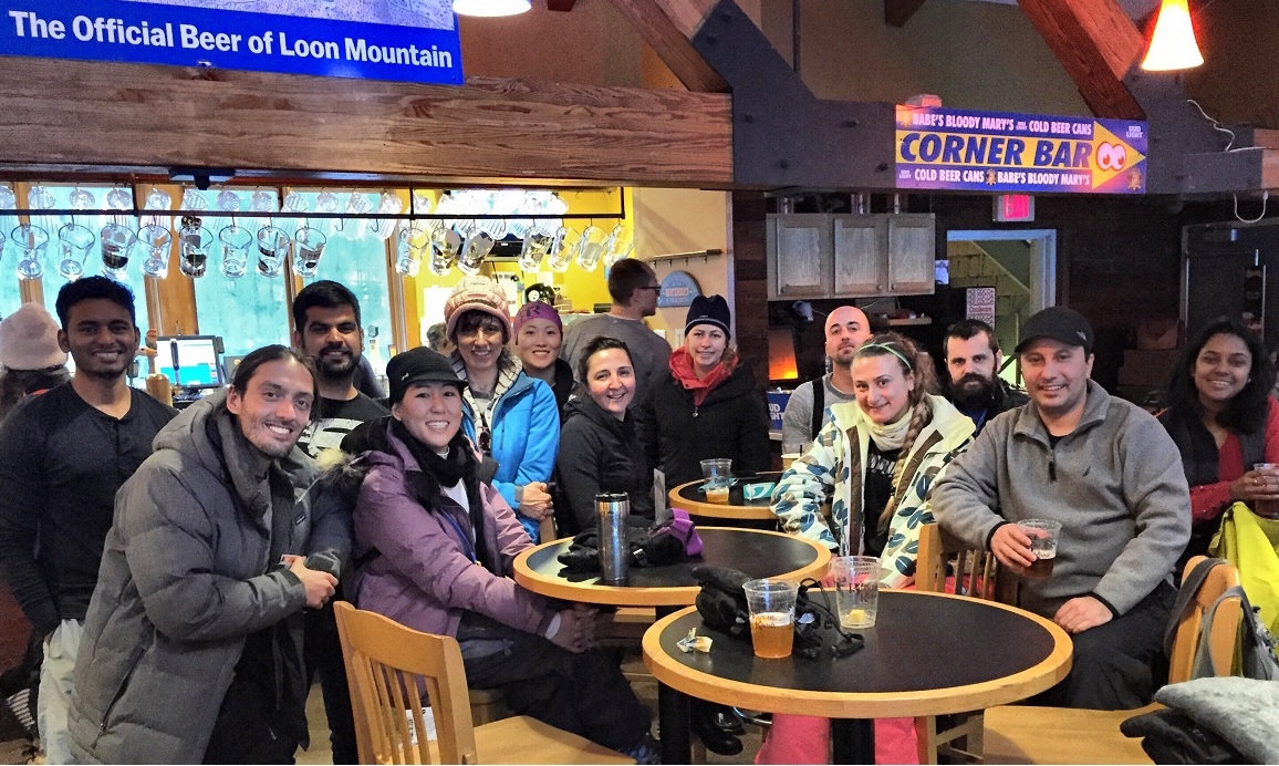 Loon Mountain After Skiing
