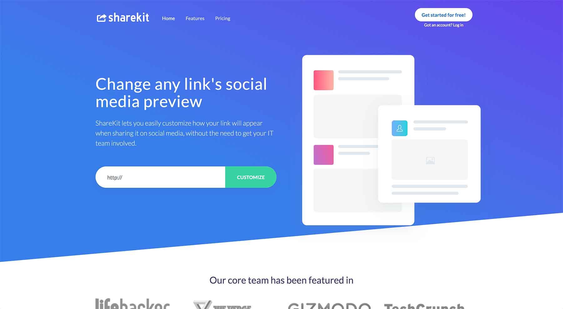 ShareKit.io Website
