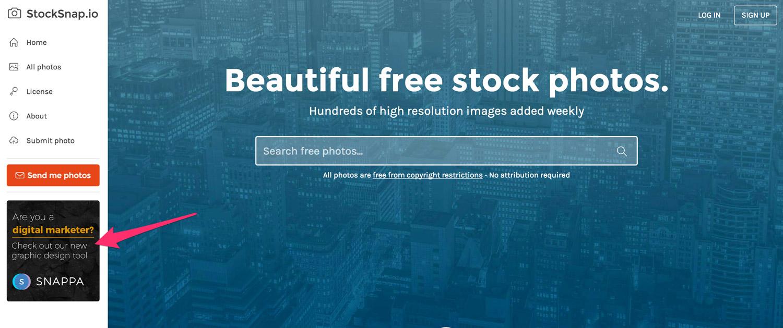 Banner Ad Screenshot